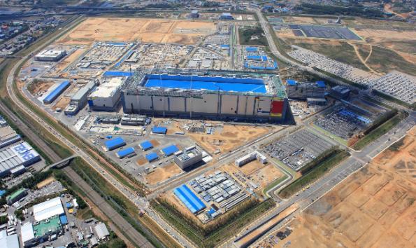 Samsung starts production at world's biggest fab