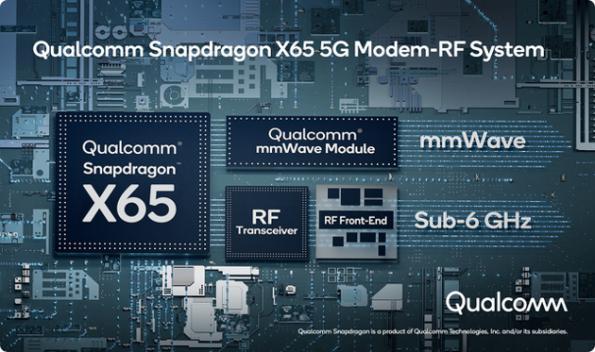 Qualcomm lance un modem 5G 10 Gbps pour mobile, IoT
