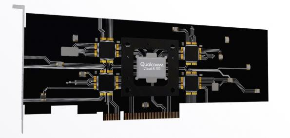 Qualcomm aims for power efficient AI in the cloud