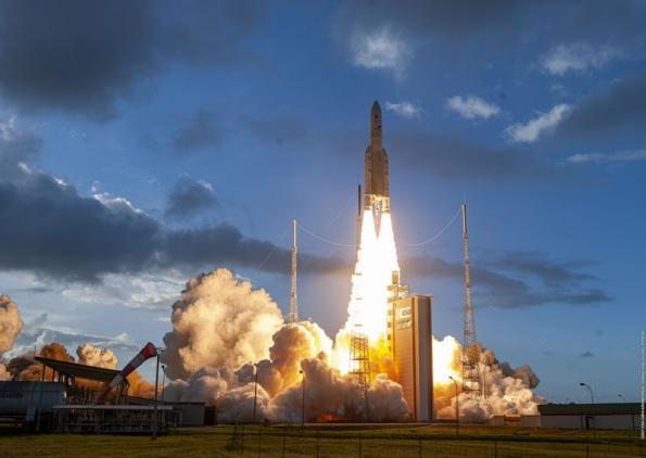 First software defined geostationary satellite in orbit