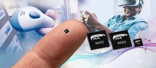Chip scale packaging for IoT end point microcontroller range