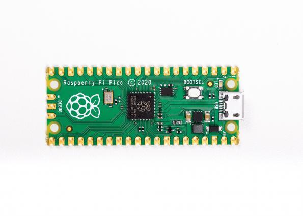 IAR supports Raspberry Pi pico board