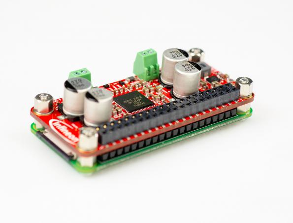 Infineon has launched a self-contained Raspberry Pi audio amplifier HAT board featuring high definition audio at high power levels.