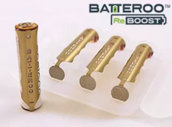 Sleeve boosts rechargeable battery performance
