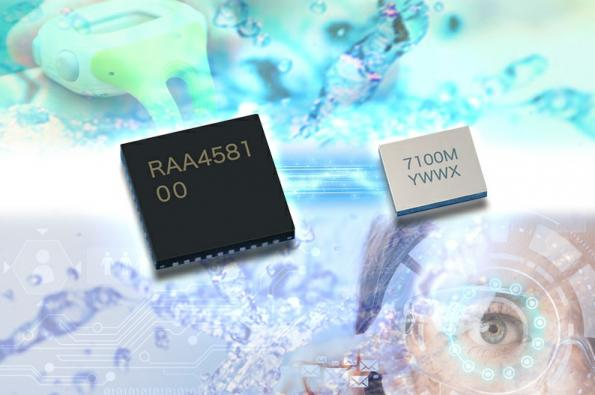 Single chip for rugged wireless charging of wearable devices