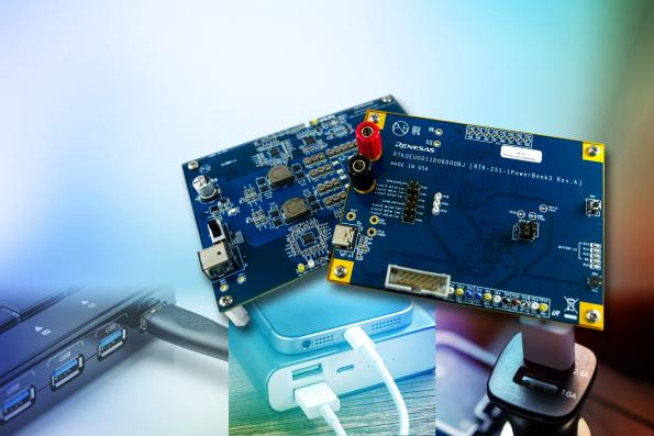 Reference designs for USB PD and USB-Cbattery charging applications