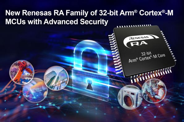 Renesas has unveiled the Renesas Advanced (RA) range of MCUs to provide an easy-to-use combination of performance, security, connectivity and peripheral IP.