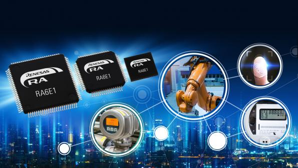 Renesas boosts entry level ARM controller performance to 200MHz