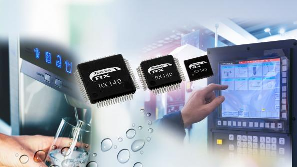 Renesas doubles performance with drop in replacement RX140 microcontrollers