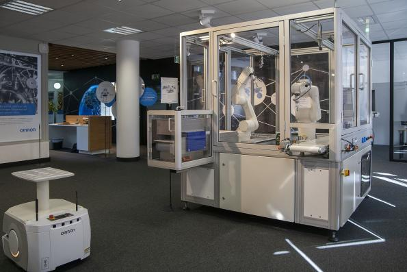 "Omron opens eight Innovation Labs across Europe to show ""proof-of-concept"" factories"