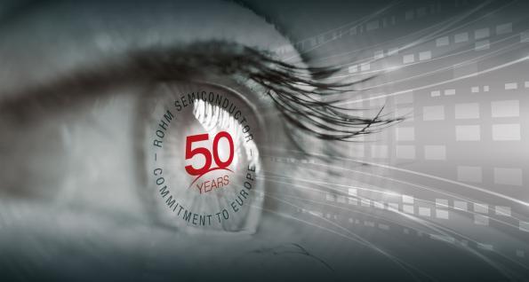 Rohm celebrates 50 years in Europe