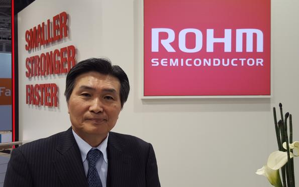 Rohm: Global focus is on automotive, industrial