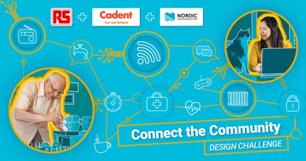 RS Components, Nordic Semiconductor and Cadent have partnered to launch a global 'Connect the Community' competition to assist people in isolation.