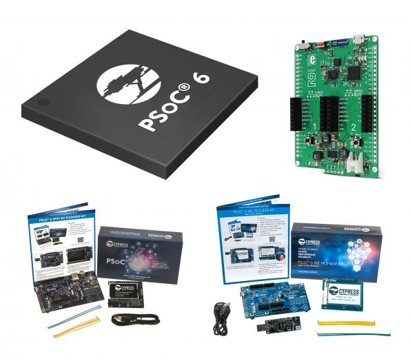 Low-power PSoC 6 MCUs in stock at RS