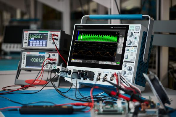 RS Components has added Tektronix' 3 Series MDO (mixed-domain oscilloscope) and 4 Series MSO (mixed-signal oscilloscope).