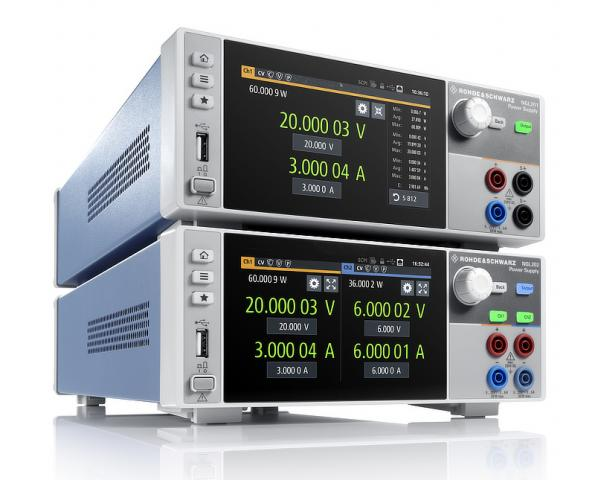 Two-quadrant high accuracy power supply series has fast load recovery