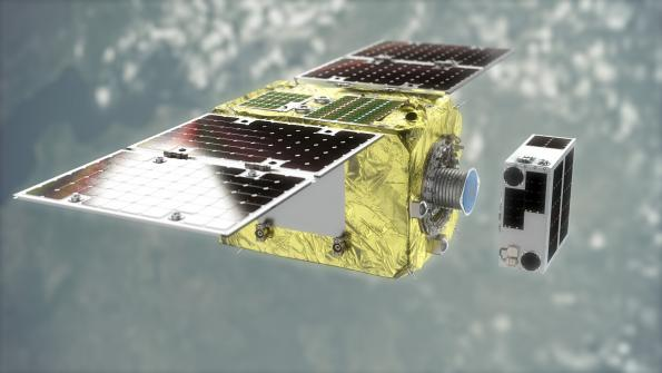 Ruag teams fordebris removal spacecraft