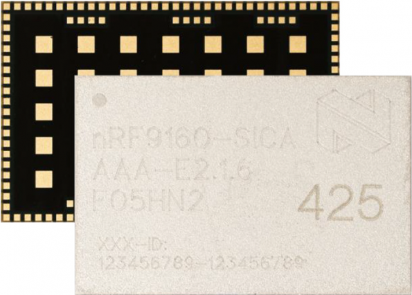 Rutronik UK adds Nordic's nRF9160 SiP