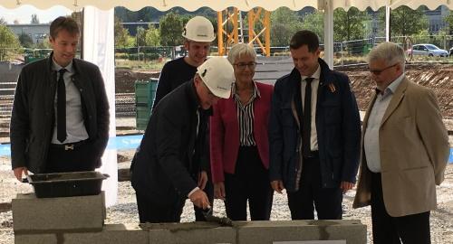 Safran pose la première pierre de son nouveau centre de R&D