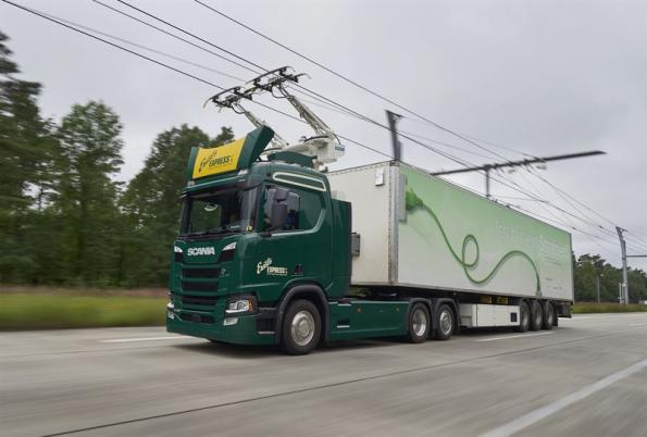 Scania to supply electric trucks for German eHighway project