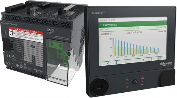 The PowerLogic ION9000T developed by Schneider Electric adds high-speed transient capture capabilities with 10MHz sampling