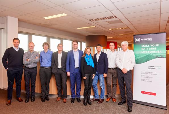 e-peas raises €3.5m for energy harvesting power management