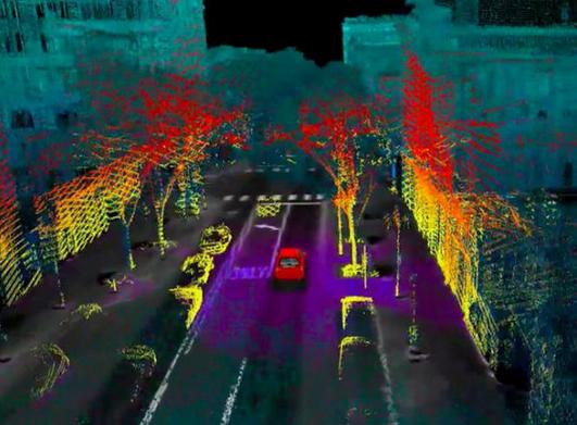 AEye combines 2D, 3D sensors