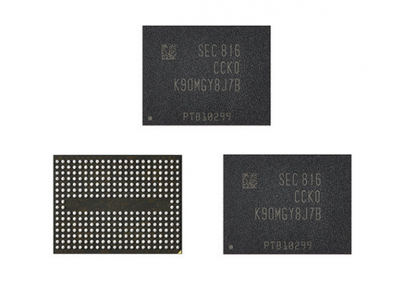 Samsung ramps production of 96-layer 3D-NAND flash