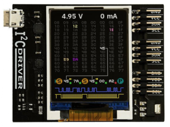 This board will put you in the I2C driver seat