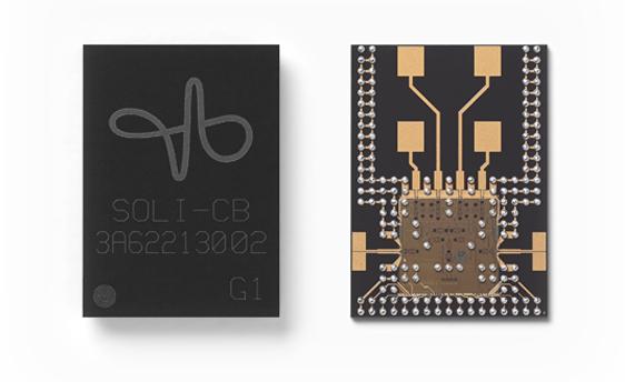FCC approves Soli technology, Google's and Infineon's radar-based hand motion sensor.
