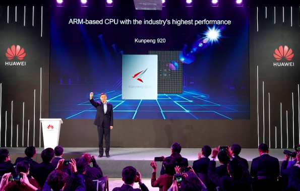 Huawei launches 7nm ARM server processor