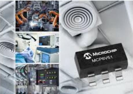 Zero-Drift Operational Amplifier from Microchip