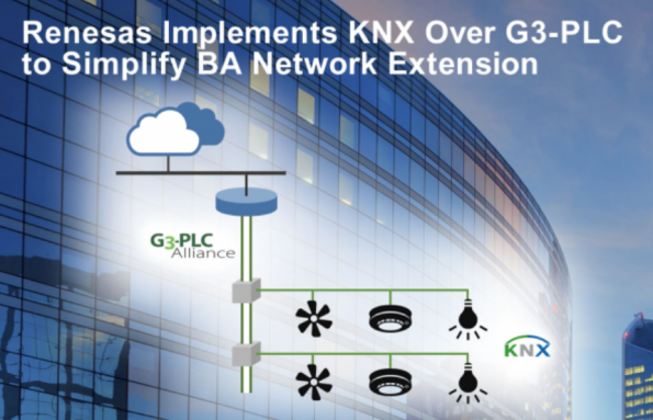Renesas introduces KNX over G3-PLC