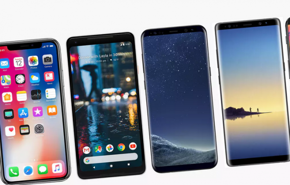 Huawei is overtaking Apple in flat smartphone market