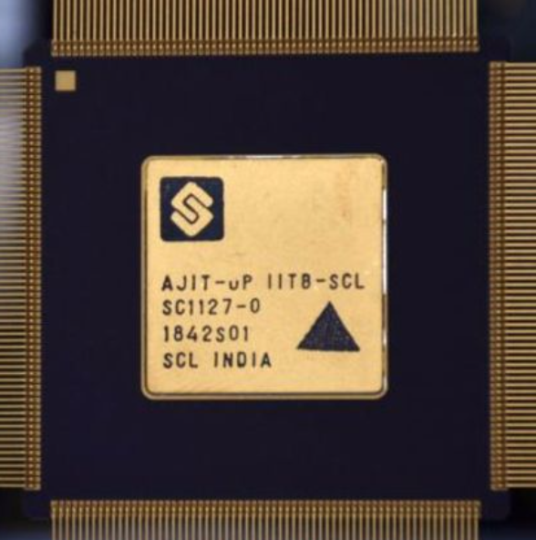 IIT Bombay developers make the first India Microprocessor - AJIT