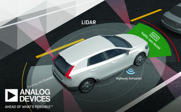 Analog Devices, First Sensor developing Lidar offerings