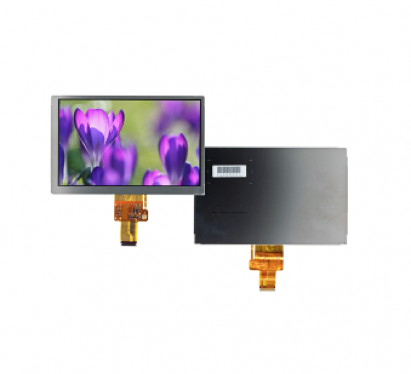 Robust, sunlight readable 7-inch TFT Blanview display