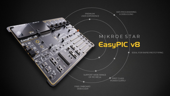 EasyPIC Generation 8 is ready | Mikroe