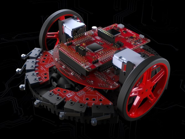 TI unveils solderless robotics kit for university education