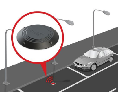 Base stations reducing complexity of IoT smart parking projects