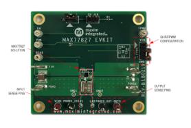 MAX77827 1.5A buck-boost converter extends battery life
