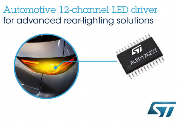 State-of-the-art lighting with STMicroelectronics ALED 1262ZT