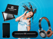 Wireless audio designs with Microchip's new Bluetooth® 5.0-qualified, dual-mode solutions