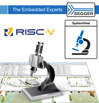 SEGGER SystemView for RISC-V now available