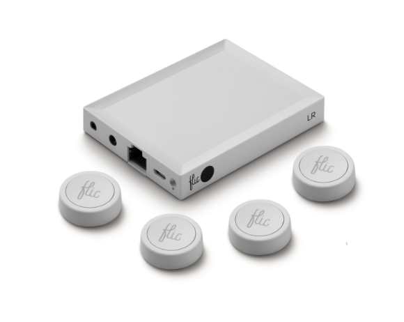 Shortcut Labs' Flic 2 and Flic Hub LR employ Nordic's nRF52811 SoC to trigger smart devices