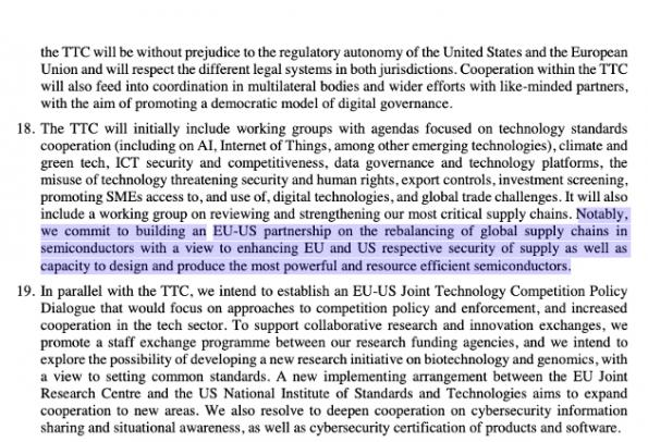 US, EU make Western hemisphere semiconductor pact