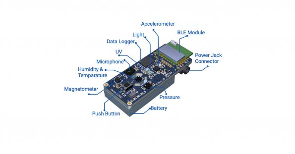 SensiEDGE's SensiBLE 2.0 is a small IoT module that is intended to ease cloud connectivity and quicken time to market.