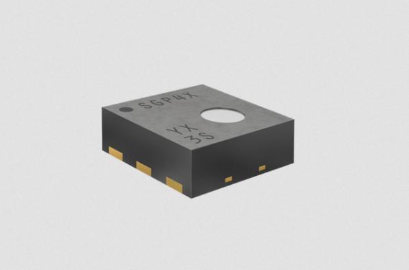 VOC sensor includes control output, algorithm