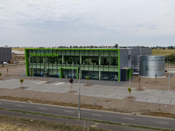 Sensiron opens carbon-neutral factory in Hungary