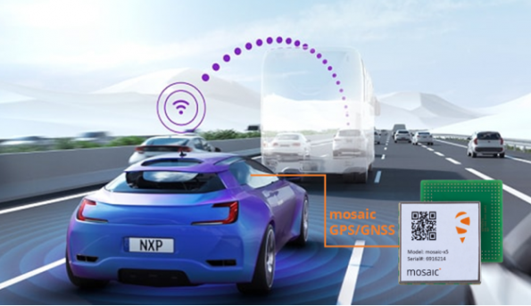 NXP will integrate Septentrio's GNSS technology into the company's V2X (Vehicle-to-Everything) reference design and development boards.